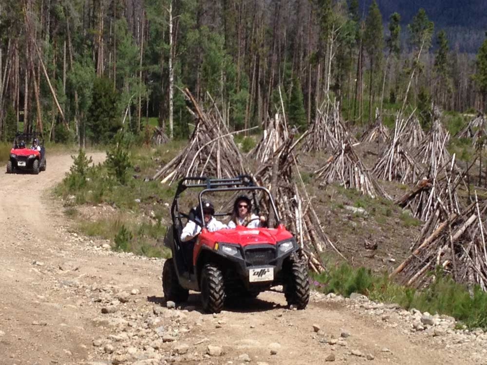 Snowmobile And Atv Rentals In Colorado On The Trail Rentals