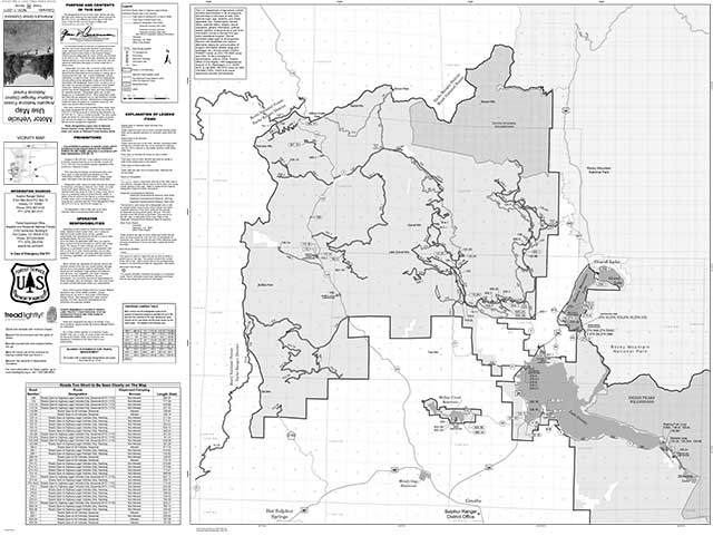 Arapahoe National Forest ATV trailmap preview